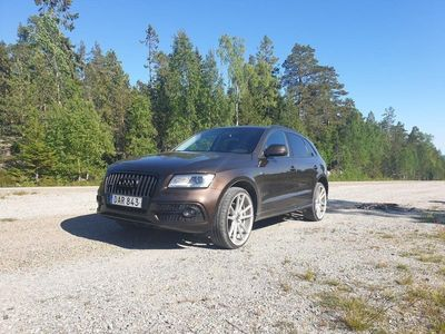 begagnad Audi Q5 2,0tdi S line S tronic D-värmare