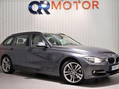 begagnad BMW 335 d xDrive Euro 6 313hk HEMLEVERANS