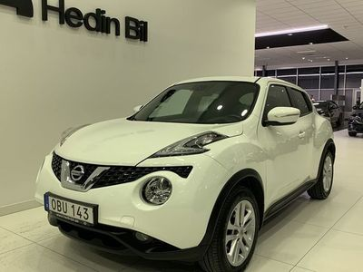 begagnad Nissan Juke 1,2 Man 115hk N-CONNECTA SUNROOF // Inkl V-Hjul