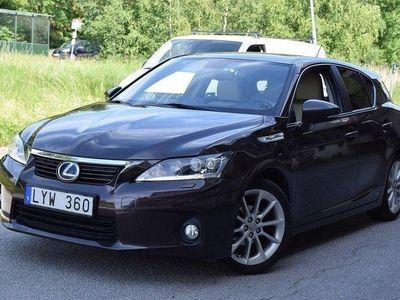 begagnad Lexus CT200h CT1.8 CVT 136hk 9640 Mil