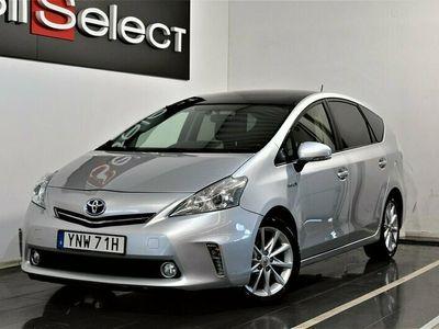 begagnad Toyota Prius+ Hybrid + 1.8 VVT-i + 3JM CVT 7-sits Pano 136hk