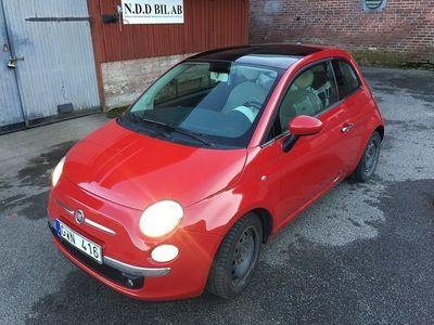 begagnad Fiat 500 1,,3 DIESEL, PANORAMA, 7800 mil