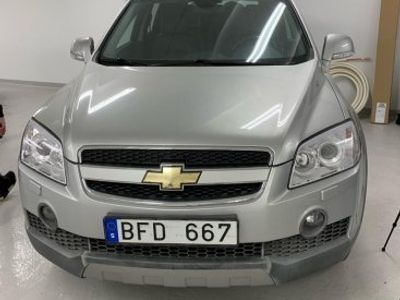 second-hand Chevrolet Captiva
