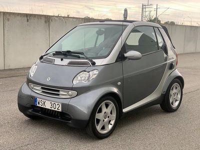 begagnad Smart ForTwo Cabrio 0.7 Automat 61hk Lågmil