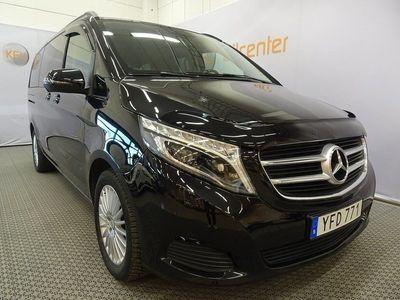 begagnad Mercedes V220 CDI Värmare-Drag-Aut-Navi 8-sits 163hk