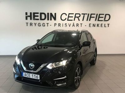 begagnad Nissan Qashqai DCI 115 N-CONNECTA 2WD 6M/T ROOF PACK