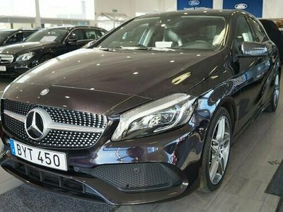 begagnad Mercedes 250 A Benz A 5. i Tillbehör4MATIC AMG Sport Exclusive 2016, Halvkombi Pris 249 000 kr