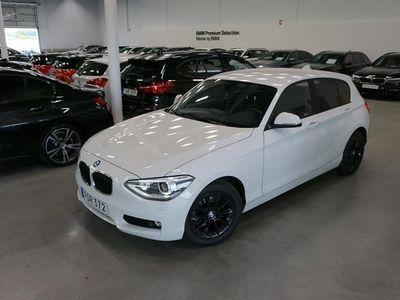 begagnad BMW 116 i Sportstol Xenon Tonade Rutor 136hk Låga Mil