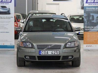 begagnad Volvo V50 1.8 FLEXIFUEL DRAG NY BESIKTAD NY SERVAD