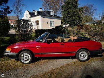 begagnad Saab 900 Cabriolet Turbo 16V -87