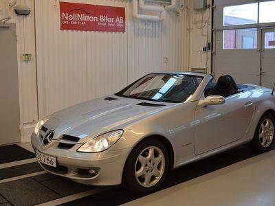 begagnad Mercedes SLK200 cab / 10500 Mil -04