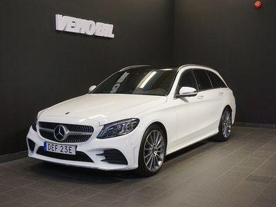 begagnad Mercedes C200 9G-Tronic AMG Premium+ Drag Panorama Nav