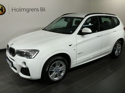 begagnad BMW X3 20d xDrive M-sport