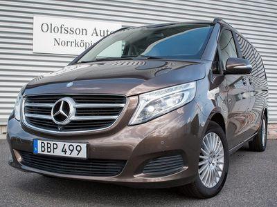 begagnad Mercedes V220 CDI 7-sits 163hk Lång