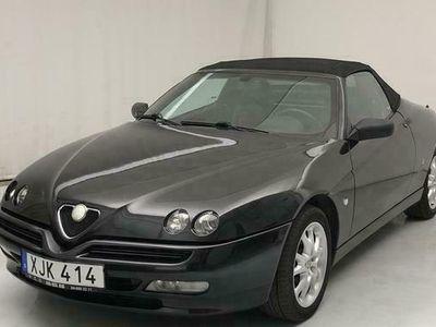 begagnad Alfa Romeo Spider 2.0 TS 2002, Cab Pris 98 000 kr