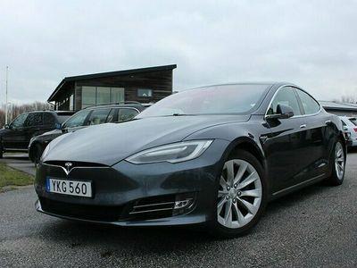 begagnad Tesla Model S 100D Utökad Autopilot Momsbil/Leasbar Panorama Luftfjädring