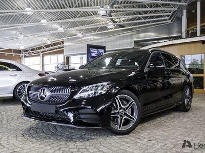 begagnad Mercedes C200 d Kombi Fleet // AMG Line & Drag //