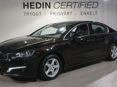 begagnad Peugeot 508 1.6 BlueHDi EAT Allure 120hk Aut