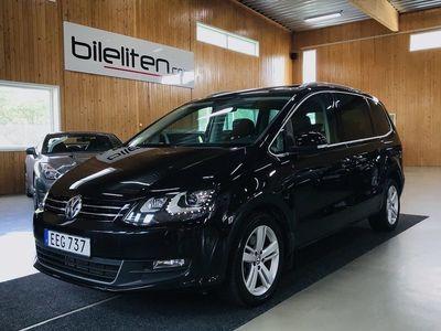 begagnad VW Sharan TDI 4M Premium 7-sits Värm Pano EU6 150hk