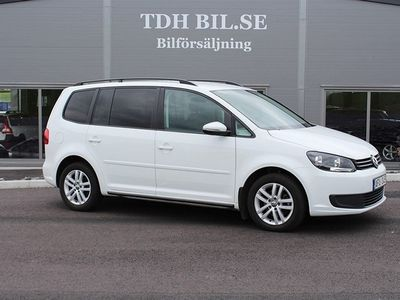 begagnad VW Touran 1.6 TDI Automat Svensksåld