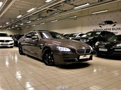 begagnad BMW 640 d Gran Coupé 313HK SOFTCLOSE PANORAMA SVENSKSÅLD V+S