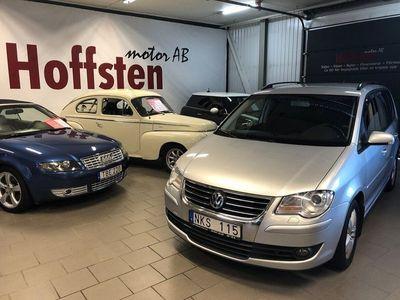 begagnad VW Touran 2.0 TDI DSG Sekventiell 7-sits 140hk