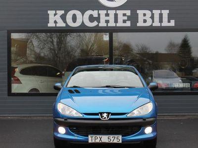 begagnad Peugeot 206 CC CAB 1,6 109HK *12100 mil* -03