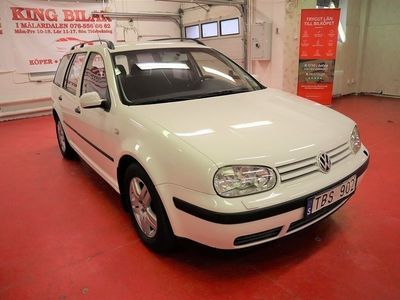 begagnad VW Golf Variant 1.6 Aut NY BESIKTAD 102hk