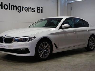 begagnad BMW 520 d xDrive Sedan Värmare Navi Drag HiFi