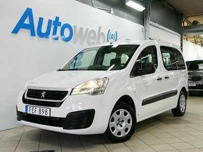 begagnad Peugeot Partner Tepee 1.6 99hk BlueHDi/Drag/Momsbil/Leasbar bil