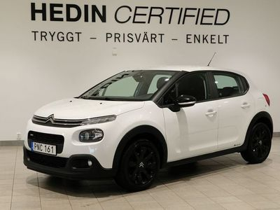 begagnad Citroën C3 PURETECH 82 BLACK LAUNCH