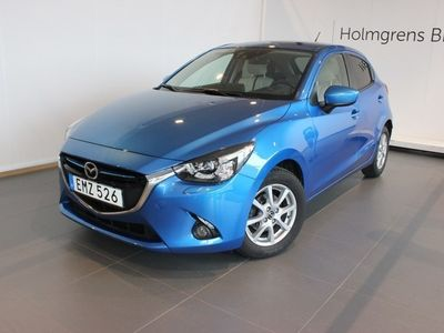 gebraucht Mazda 2 1.5 115hk, 6 man Optimum