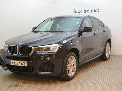 begagnad BMW X4 xDrive20d M Sport 190hk Värmare / HiFi / Drag / Navi