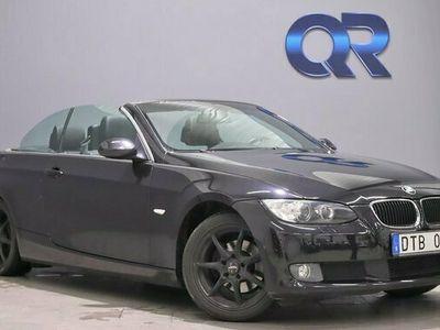 begagnad BMW 320 Cabriolet i Skinn Navigation S-V Hjul 170hk