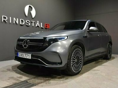 begagnad Mercedes EQC Benz 400 4MATIC DRAG AMG SE UTR 2020, SUV Pris 789 900 kr