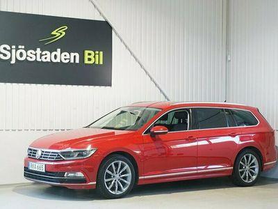 begagnad VW Passat Sportscombi 2.0 TDI Executive R-line Drag Eu6 190hk