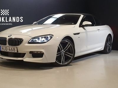 begagnad BMW 640 i xDrive Steptronic M Sport Euro 6 320hk Convertible