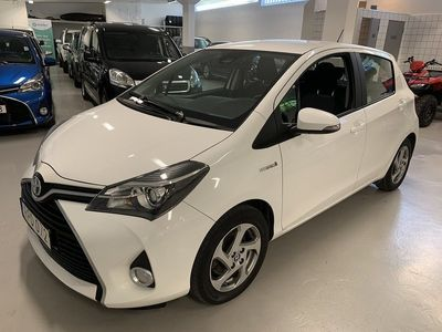 begagnad Toyota Yaris Hybrid 1.5 Aut Active Backkamera -16