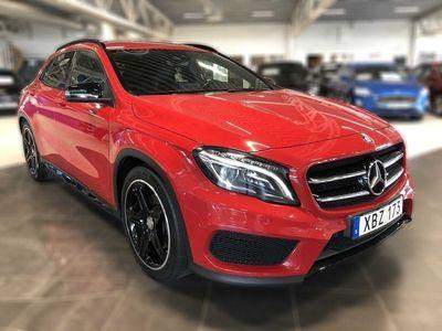 begagnad Mercedes GLA220 d 4MATIC 177hk, Backkamera, Sportstolar, P-sensorer, SoV-hju