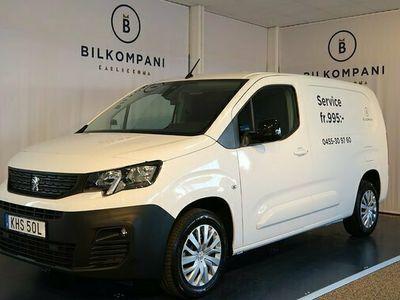 begagnad Peugeot Partner PRO L2 130 AUtomat drag värmare 2020, Minibuss Pris 259 900 kr
