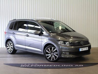 begagnad VW Touran 1.6 TDI AUT Bluemotion 7-sits