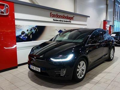 begagnad Tesla Model X 90D AWD 6-Sits Leasbar