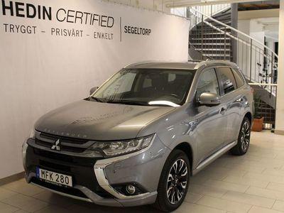 begagnad Mitsubishi Outlander 2,0 121HK PLUG-IN HYBRID BUSINESS KROK S+V-HJUL