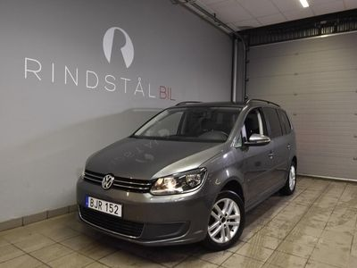 begagnad VW Touran 1.4 TSI 140 HK DRAG 7-SITS