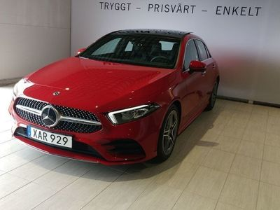 begagnad Mercedes 180 AMG-Line//Panorama//Widescreen