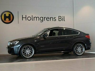 begagnad BMW X4 xDrive35d M-Sport - Drag Nav Taklucka Värmare (313hk)