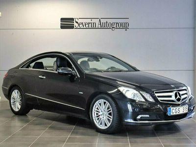 begagnad Mercedes E350 (292hk) Coupé CGI BlueFFICINCY