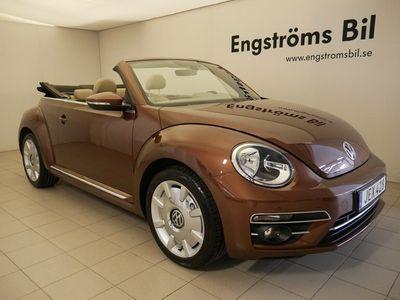 begagnad VW Beetle TheCabriolet TSI 105Hk Låga mil