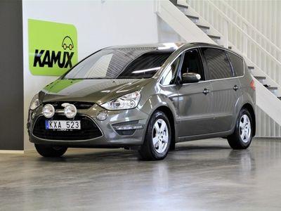 begagnad Ford S-MAX 2,0 TDCi Aut 7-sits Drag M-värm