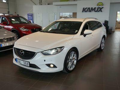 begagnad Mazda 6 2.2 Aut Optimum Skinn Navi (175hk)